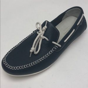 Cole Haan Mens Shoe Navy White 10 new
